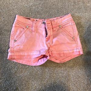 Rock Revival Pink Shorts